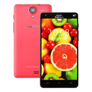 CellAllure Smart III 5.0 IPS/ Dual SIM/ 4G HPSD+/ 5-inch Screen/ Pink Factory Unlocked Android Smartphone