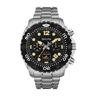 Bulova Sea King Men's 98B244 Sainless Steel 300M Water Resistant Watch|https://ak1.ostkcdn.com/images/products/10218911/P17340657.jpg?impolicy=medium