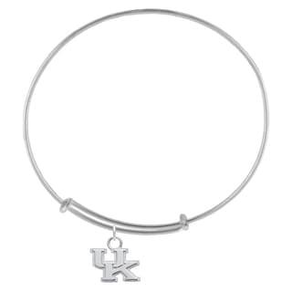 Kentucky Sterling Silver Charm Adjustable Bracelet