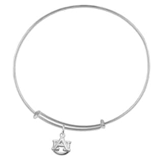 Auburn Sterling Silver Charm Adjustable Bracelet