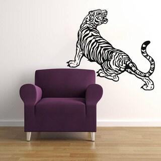 Tiger Vinyl Sticker Wall Art