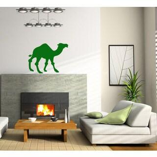 Camel Desert Vinyl Sticker Wall Art