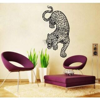 Panther Leopard Cheetah Vinyl Sticker Wall Art