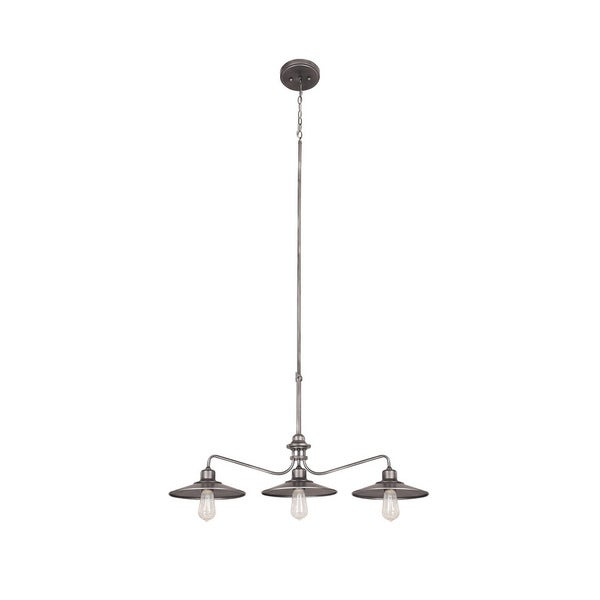 Shop Capital Lighting Urban Collection 3-light Graphite