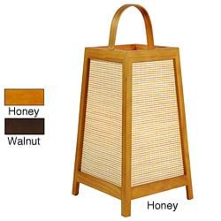 Handmade Akida 17-inch Shoji Lamp (China) - Thumbnail 0