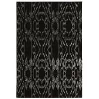 Linon Prisma Electric Black Rug (8' x 10'4-inch)