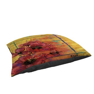 Artistic Poppy I Fleece Pet Bed