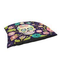 Sugar Skull Indoor/ Outdoor Pet Bed