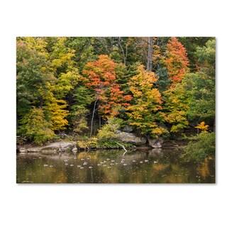 Kurt Shaffer 'Early Fall' Canvas Art