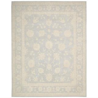 Nourison Zephyr Light Blue Rug (7'6 x 9'6)