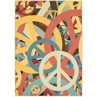 Nourison Gotta Get It Multicolor Rug (4'6 x 6'6) - 4'6 X 6'6