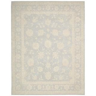 Nourison Zephyr Light Blue Rug (9'6 x 13')