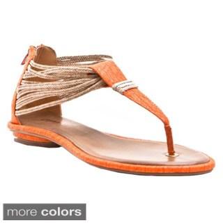 Gomax Women's Shoe Kitty Corner 08 Flat Sandals