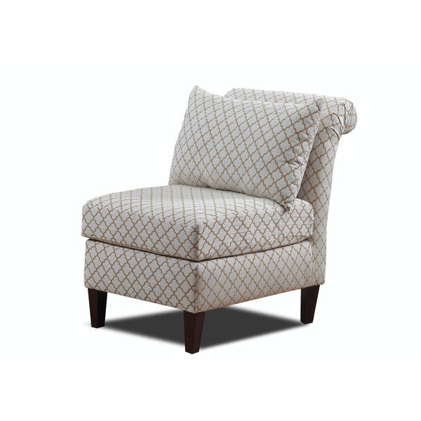 Ashton Roll Back Armless Chair  sc 1 st  Overstock.com & Shop Ashton Roll Back Armless Chair - Free Shipping Today ...