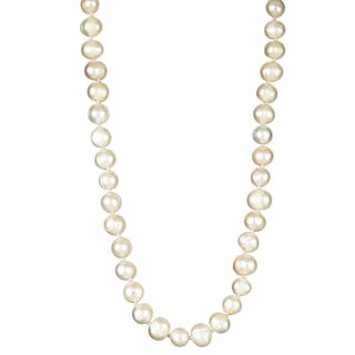 Decadence Elastic Freshwater Pearl Necklace