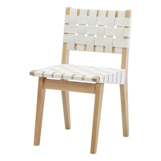 Design Tree Home Webbed Beech Wood Dining Chair
