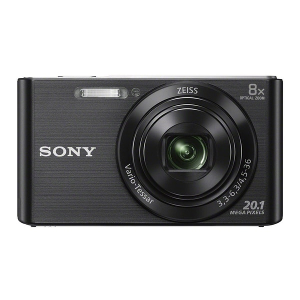 Sony DSCW830/B 20.1MP Digital Camera with 2.7-Inch LCD (Black)