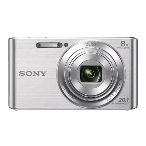 Sony DSCW830 20.1MP Digital Camera with 2.7-Inch LCD Screen (Silver)