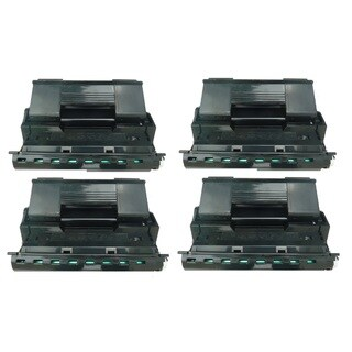 Replacing 113R00712 113R712 Black Toner Cartridge for Xerox Phaser 4510 4510B 4510DT 4510DX 4510N Series Printers (Pack of 4)