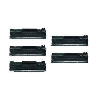 Replacing Canon 137 (9435B001) Black Toner Cartridge for ImageClass MF212w MF216n MF227dw MF229dw Series Printers (Pack of 5)