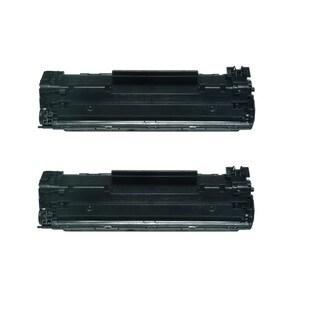 Replacing Canon 137 (9435B001) Black Toner Cartridge for ImageClass MF212w MF216n MF227dw MF229dw Series Printers (Pack of 2)