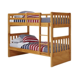 Woodcrest Pine Ridge Twin Mission Bunk Bed