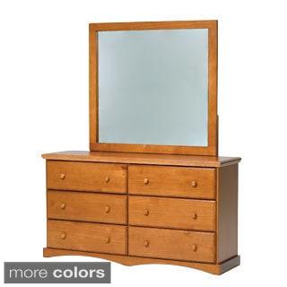 Woodcrest Pine Ridge 6-drawer Chest