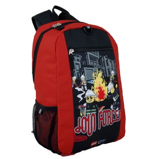 LEGO City Fire Join Forces Basic Backpack