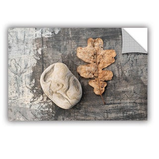 ArtWall Elena Ray ' Still Life Leaf Stone ' Art Appeals Removable Wall Art (3 options available)