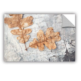ArtWall Elena Ray ' Still Life Two Leaves ' Art Appeals Removable Wall Art (3 options available)