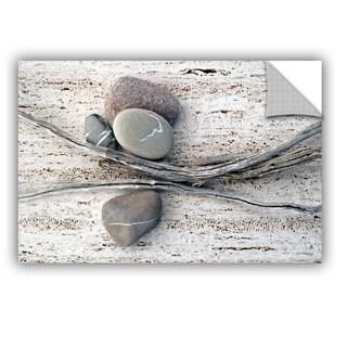 ArtWall Elena Ray ' Still Life Sticks Stones ' Art Appeals Removable Wall Art