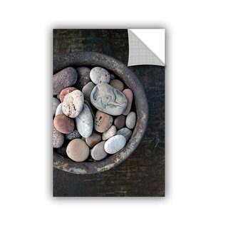ArtWall Elena Ray ' Still Life Stone Bowl ' Art Appeals Removable Wall Art