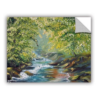 ArtWall Meaghan Troup ' Living Water ' Art Appeals Removable Wall Art