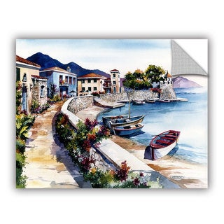 Bill Drysdale ' Nafpaktos ' Art Appeals Removable Wall Art