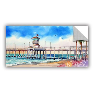Bill Drysdale ' Sage Surf City Pier ' Art Appeals Removable Wall Art