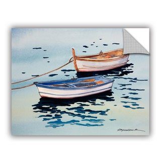 Bill Drysdale ' Sage Vernazza Light ' Art Appeals Removable Wall Art