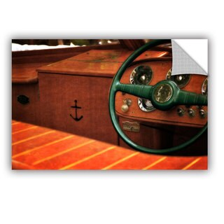ArtWall Kevin Calkins ' Chris Craft Interior ' Art Appealz Removable Wall Art (3 options available)