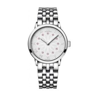Rue Du Rhone Women's 87WA140012 'Double 8' Diamond Silver Stainless steel Watch