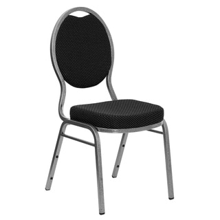 Hercules Series Teardrop Back Stacking Banquet Chair