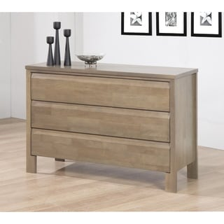 Alsa Gray 3-drawer Dresser