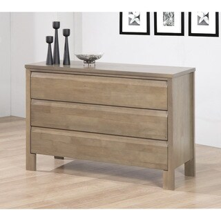 Copper Grove Hollybank Gray 3-drawer Dresser