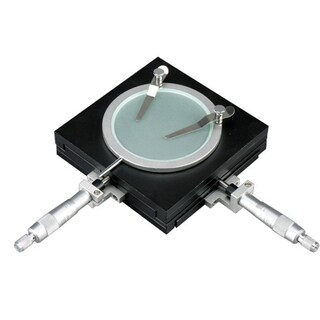 0.01mm Precise Gliding Table - Manual Stage For Microscopes
