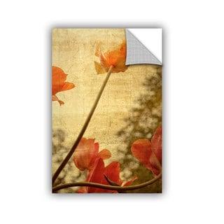 ArtWall Kevin Calkins ' Orange Tulip ' Artappealz Removable Wall Art