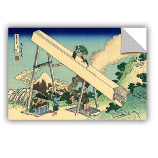 ArtWall Katsushika Hokusai 'The Fuji from the mountains of Totomi', Removable Wall Art