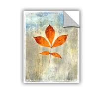 ArtWall Elena Ray  ' Leaf I ' Art Appeals Removable Wall Art
