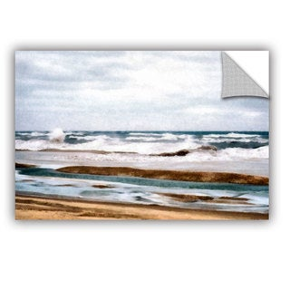 ArtWall Kevin Calkins ' Winter Shore' Artappealz Removable Wall Art