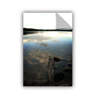 ArtWall Kevin Calkins ' Reflections On The Lake ' Artappealz Removable Wall Art