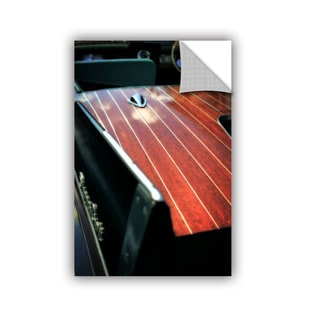 ArtWall Kevin Calkins ' Pinstripes And Tailfins' Artappealz Removable Wall Art