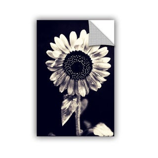 ArtWall Elena Ray ' Black And White Sunflower ' Art Appeals Removable Wall Art