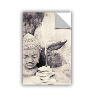 ArtWall Elena Ray ' Black And White Buddha ' Art Appeals Removable Wall Art